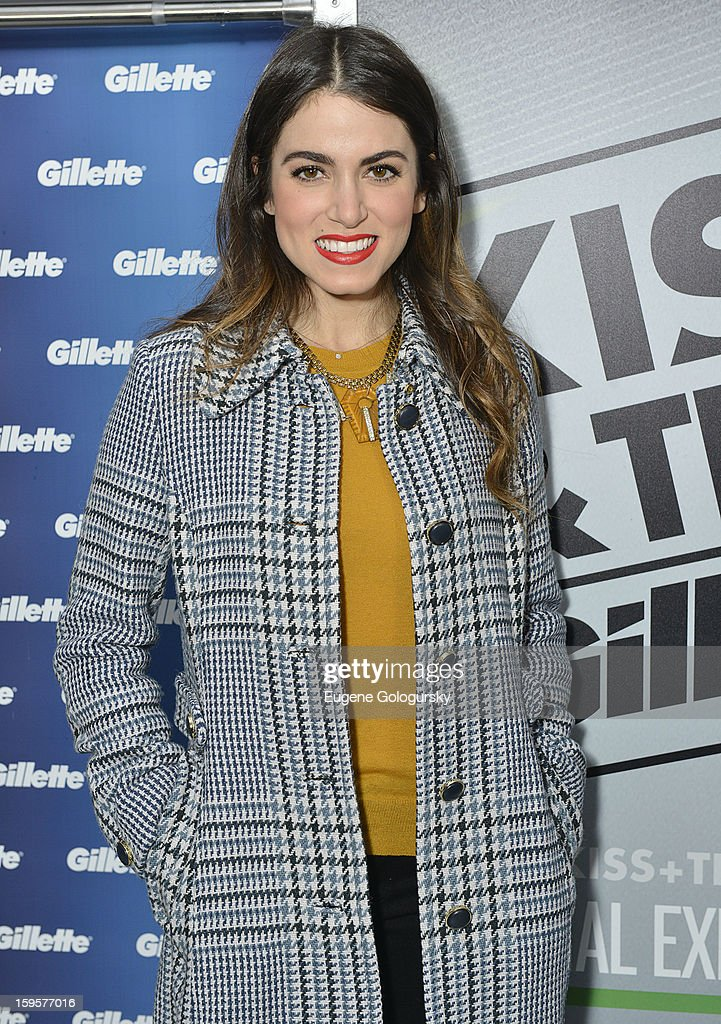 Nikki Reed attends the Kiss & Tell Social Experiment in Times Square on January 16, 2013 in New York City.