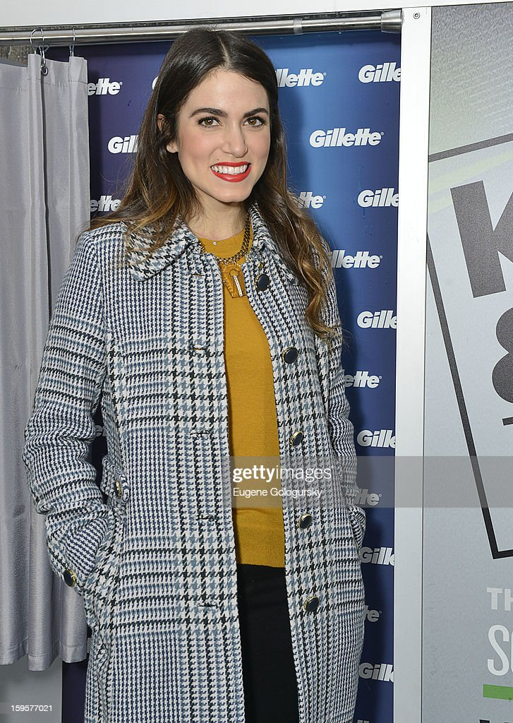 <a gi-track='captionPersonalityLinkClicked' href=/galleries/search?phrase=Nikki+Reed&family=editorial&specificpeople=220844 ng-click='$event.stopPropagation()'>Nikki Reed</a> attends the Kiss & Tell Social Experiment in Times Square on January 16, 2013 in New York City.
