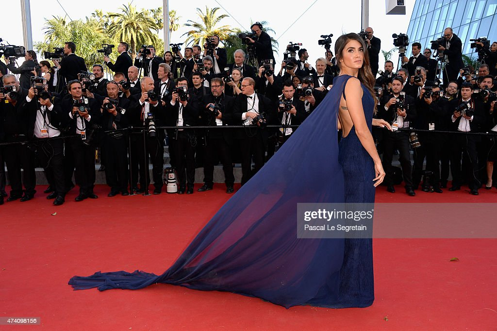 Nikki Reed attends the Premiere of 'Youth' during the 68th annual Cannes Film Festival on May 20 2015 in Cannes France