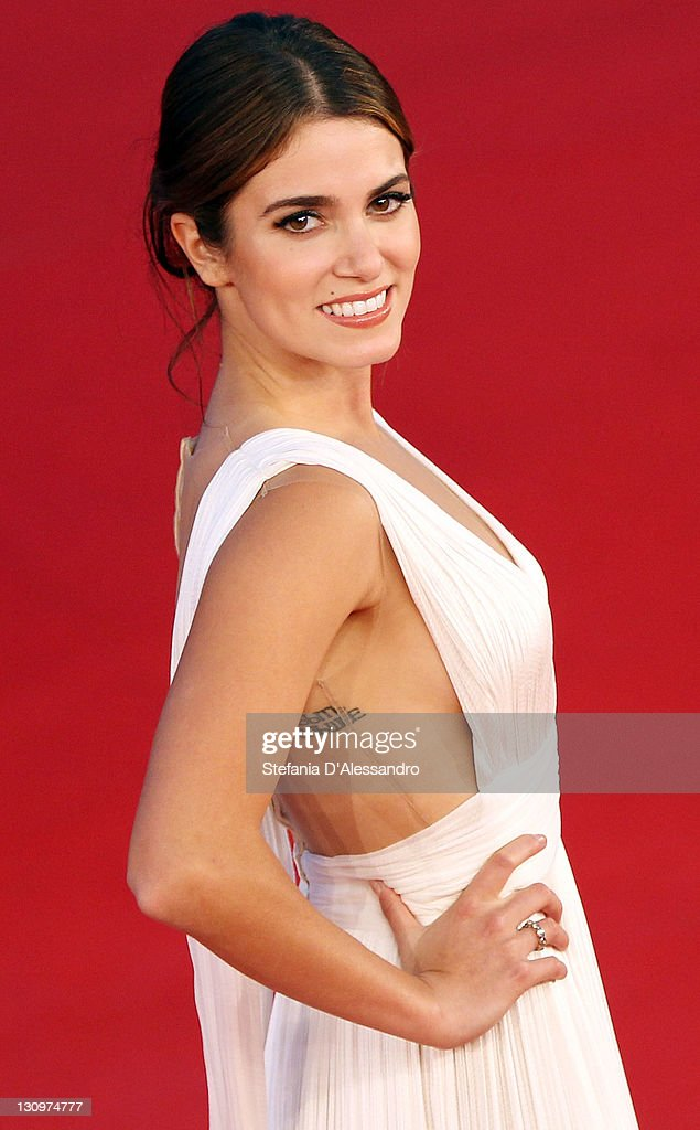 <a gi-track='captionPersonalityLinkClicked' href=/galleries/search?phrase=Nikki+Reed&family=editorial&specificpeople=220844 ng-click='$event.stopPropagation()'>Nikki Reed</a> attends 'The Twilight Saga: Breaking Dawn - Part 1' Premiere during 6th International Rome Film Festivalon October 30, 2011 in Rome, Italy.