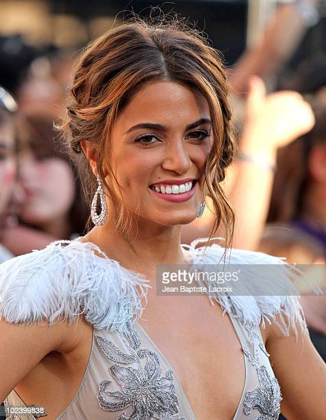 Nikki Reed attends 'The Twilight Saga Eclipse' Los Angeles Premiere at Nokia Theatre LA Live on June 24 2010 in Los Angeles California