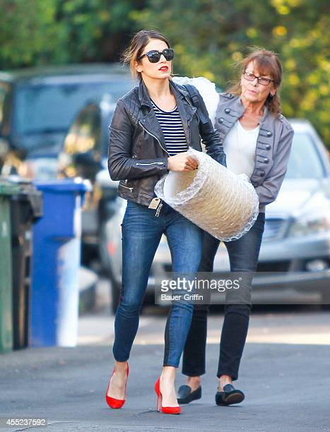 Nikki Reed is seen in Los Angeles on September 10 2014 in Los Angeles California