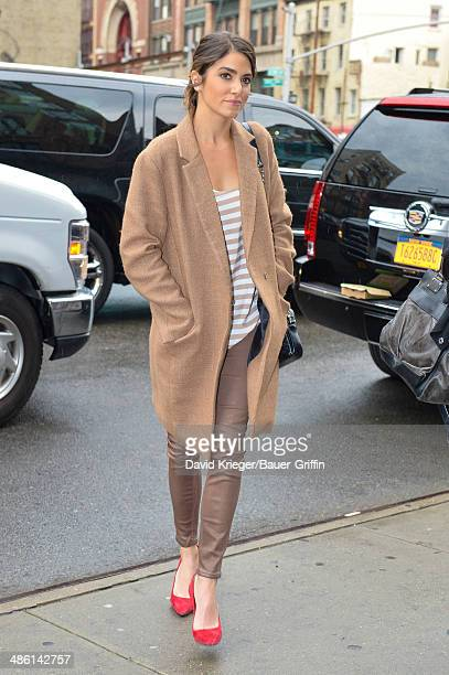 Nikki Reed is seen on April 22 2014 in New York City