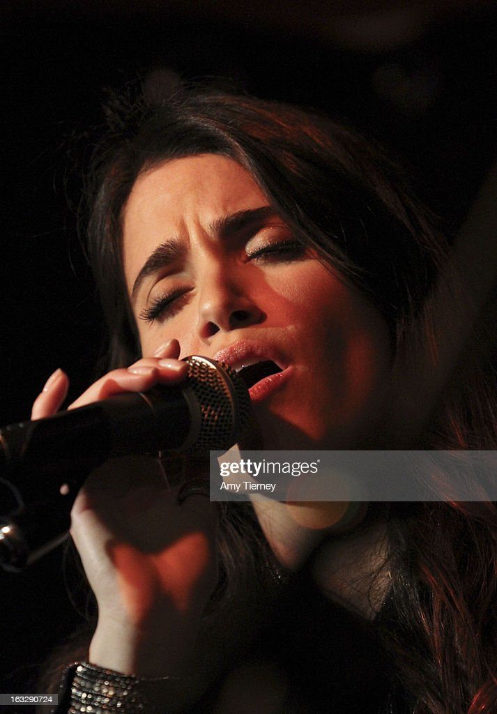 Nikki Reed performs at The Roxy Theatre on March 6, 2013 in West Hollywood, California.