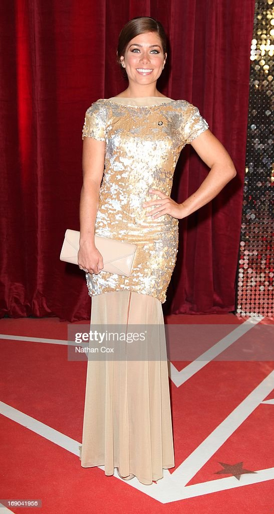 Nikki Sanderson attends The British Soap Awards 2013 at Media City on May 18, 2013 in Manchester, England.