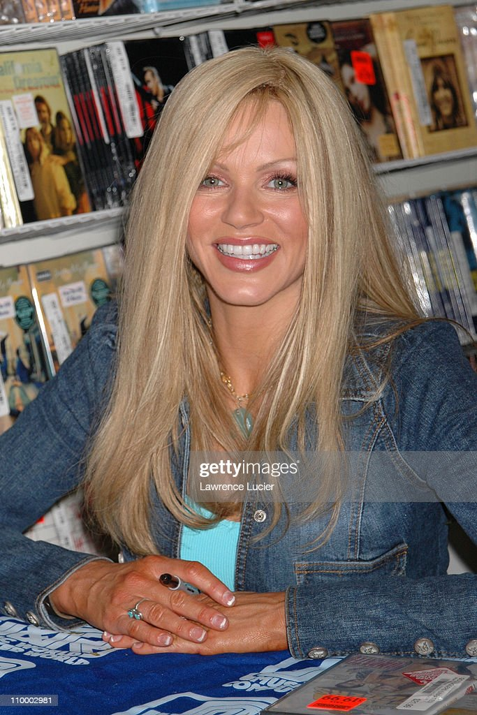 Nikki Schieler Ziering during Nikki Schieler Ziering Signs Her DVD National Lampoon's Gold Diggers at J&R Music World in New York City at J&R Music World in New York City, New York, United States.