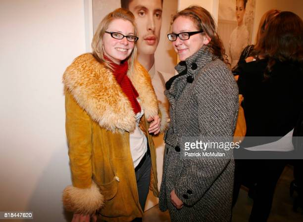 Nikki Tappa and Chelsea Deklotz attend ERWIN OLAF Opening Reception at Hasted Hunt Kraeutler on January 28 2010 in New York