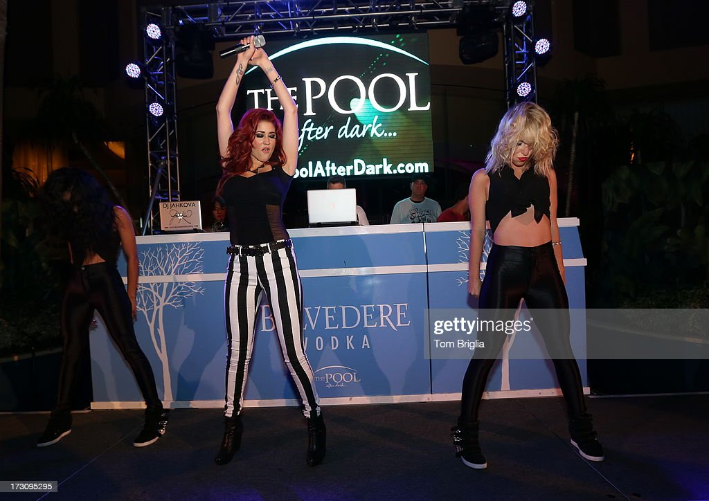 Nikki Williams performs at The Pool After Dark at Harrah's Resort on Saturday July 6, 2013 in Atlantic City, New Jersey.