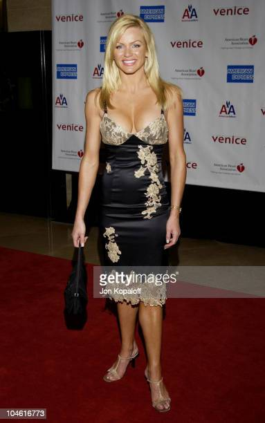 Nikki Ziering during 1st Annual American Heart Awards 'Paint The Town Red' Gala to Benefit The American Heart Association at Beverly Hilton Hotel in...