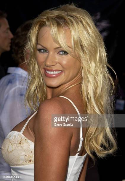 Nikki Ziering during 'Blue Crush' Premiere at Universal Amphitheatre in Universal City California United States