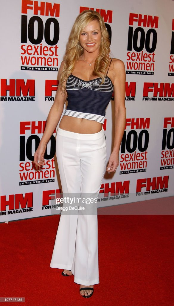 Nikki Ziering during FHM Magazine Hosts The '100 Sexiest Women in the World' Party at Raleigh Studios in Hollywood, California, United States.