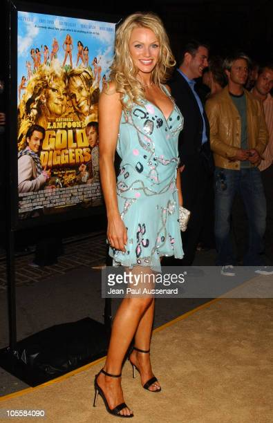 Nikki Ziering during 'National Lampoon's Gold Diggers' Premiere Arrivals at The Grove Stadium 14 in Los Angeles California United States