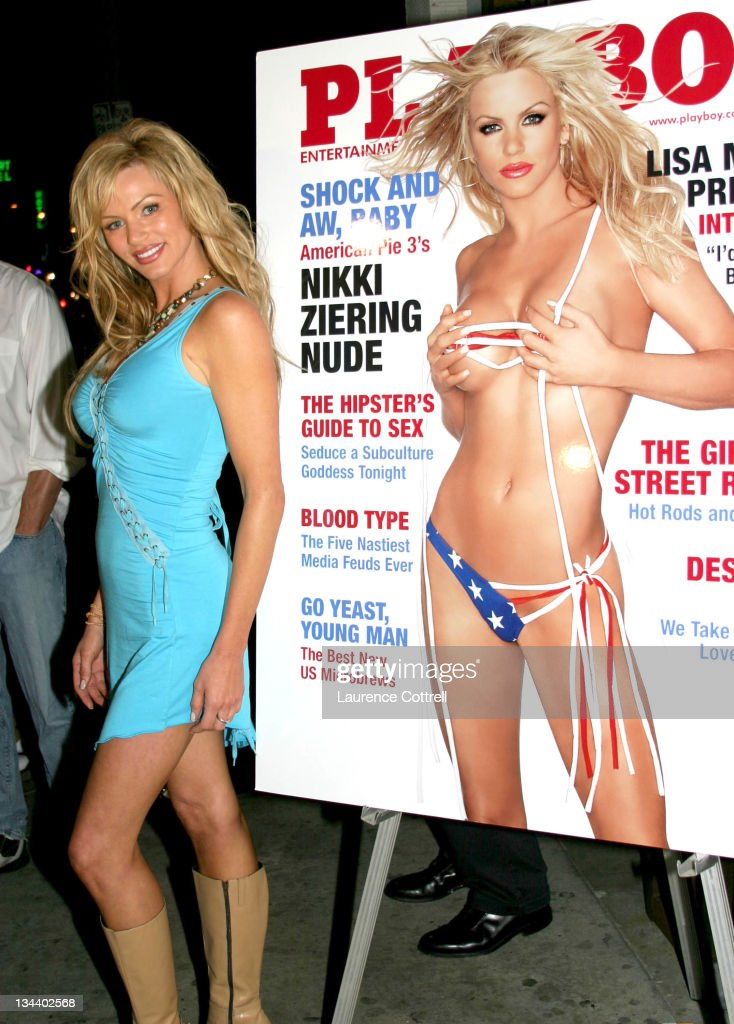 Playboy's July Cover Model Nikki Ziering,  Playboy Playmates, & cast of