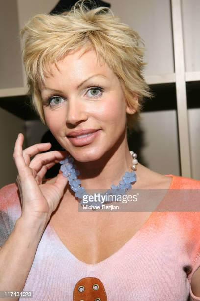 Nikki Ziering during Sonya Dakar Adwil 2007 Oscar Beauty Gifting Lounge Day 3 in Los Angeles California United States