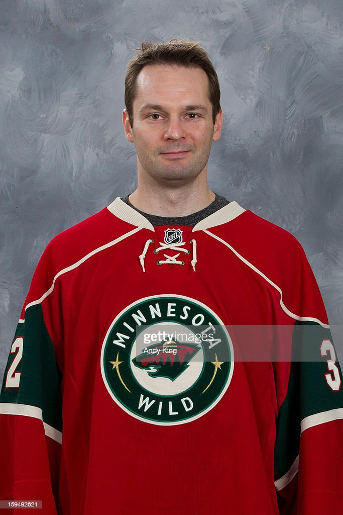 <a gi-track='captionPersonalityLinkClicked' href=/galleries/search?phrase=Niklas+Backstrom&family=editorial&specificpeople=861018 ng-click='$event.stopPropagation()'>Niklas Backstrom</a> #32 of the Minnesota Wild poses for his official headshot for the 2012-2013 season at the Xcel Energy Center on January 12, 2013 in Saint Paul, Minnesota.