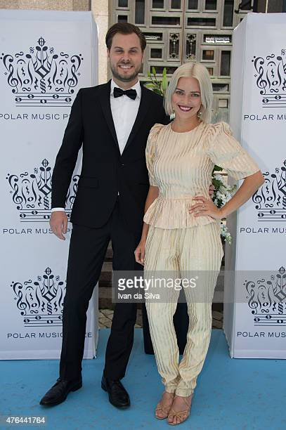 Niklas Bergwall and Petra Marklund attend Polar Music Prize at Stockholm Concert Hall on June 9 2015 in Stockholm Sweden
