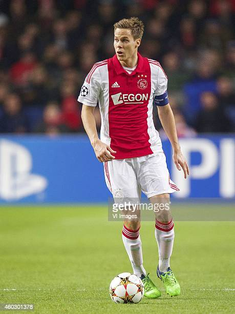 Niklas Moisander of Ajax during the UEFA Champions League group F match between Ajax Amsterdam and Apoel Nicosia on December 10 2014 at the Amsterdam...