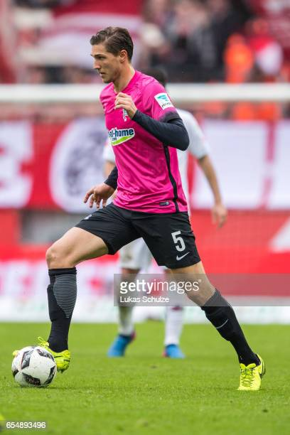 Niklas Stark of Berlin in action during the Bundesliga match between 1 FC Koeln and Hertha BSC at RheinEnergieStadion on March 18 2017 in Cologne...