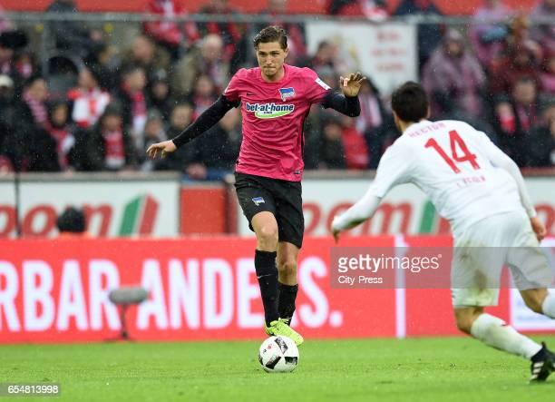 Niklas Stark of Hertha BSC during the game between dem 1 FC Koeln and Hertha BSC on march 18 2017 in Koeln Germany