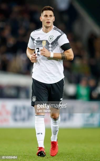 Niklas Suele of Germany is seen during the international friendly match between Germany and France at RheinEnergieStadion on November 14 2017 in...