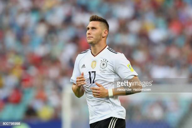 Niklas Suele of Germany runs during the FIFA Confederations Cup Russia 2017 Group B match between Germany and Cameroon at Fisht Olympic Stadium on...