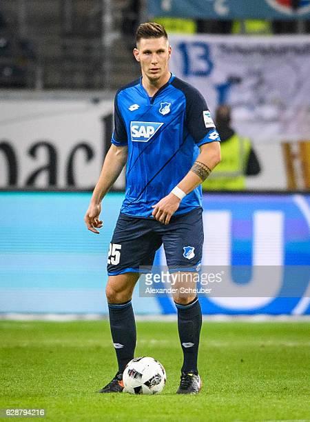 Niklas Suele of Hoffenheim in action during the Bundesliga match between Eintracht Frankfurt and TSG 1899 Hoffenheim at CommerzbankArena on December...