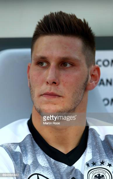 Niklas Sueler of Germany looks on before the FIFA 2018 World Cup Qualifier between Germany and San Marino at on June 10 2017 in Nuremberg Bavaria