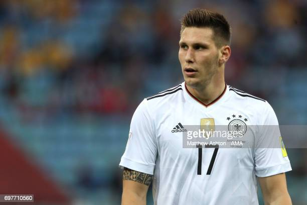 Niklas Sule of Germany looks on during the FIFA Confederations Cup Russia 2017 Group B match between Australia and Germany at Fisht Olympic Stadium...