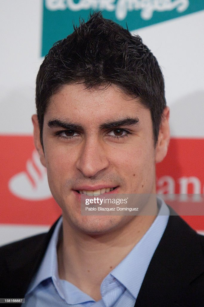 Niko Garcia attends 'As Del Deporte' Awards 2012 at The Westin Palace Hotel on December 10, 2012 in Madrid, Spain.