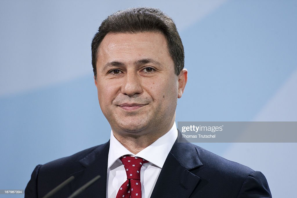 Nikola Gruevski, Prime Minister of the Republic of Macedonia.