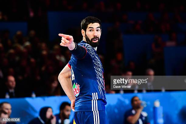 Nikola Karabatic of France during the World Championship quarter final match between France and Sweden at Stade Pierre Mauroy on January 24 2017 in...
