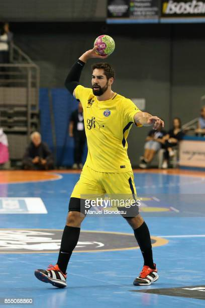 Nikola Karabatic of Paris SG during the Lidl Starligue match between Toulouse and Paris Saint Germain on September 27 2017 in Toulouse France