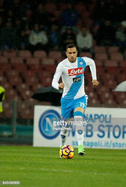 Nikola Maksimovic during the Italian Serie A soccer match between SSC Napoli and Atalanta at the San Paolo stadium Atalanta beats Napoli at San Paolo...