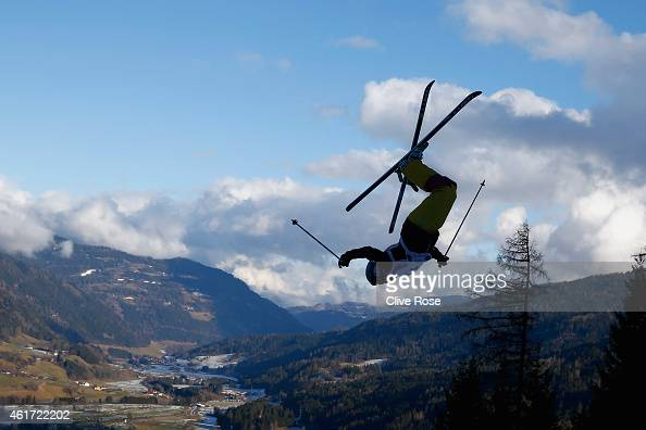 Nikola Sudova of Czech Republic competes in the Women's Moguls Final of the FIS Freestyle Ski and Snowboard World Championship 2015 on January 18...