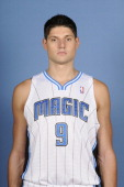 Nikola Vucevic of the Orlando Magic poses for a photo at media day on October 1 2012 at Amway Center in Orlando Florida NOTE TO USER User expressly...