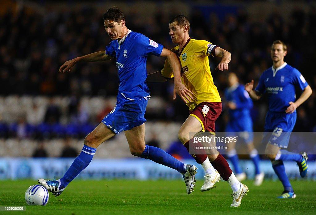 Birmingham City v Burnley - npower Championship