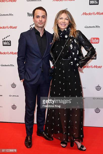 Nikolai Kinski and Ursula Karven attend the 99FireFilmAward 2016 at Admiralspalast on February 18 2016 in Berlin Germany