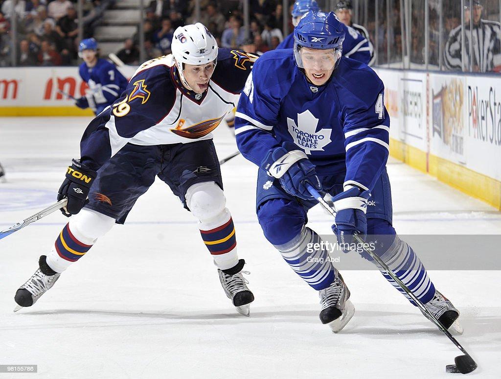 Atlanta Thrashers v Toronto Maple Leafs