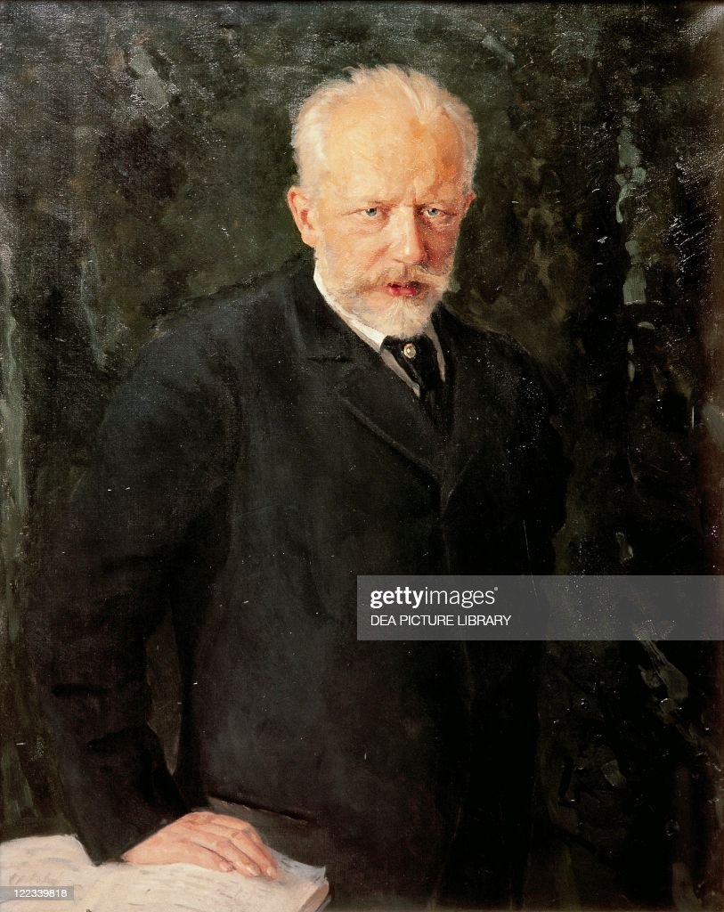 Nikolai Kutznetsov (1850-1929), Portrait of <a gi-track='captionPersonalityLinkClicked' href=/galleries/search?phrase=Pyotr+Ilyich+Tchaikovsky&family=editorial&specificpeople=4166410 ng-click='$event.stopPropagation()'>Pyotr Ilyich Tchaikovsky</a> (Votkinks, 1840 - St. Petersburg, 1893), Russian composer, 1893.