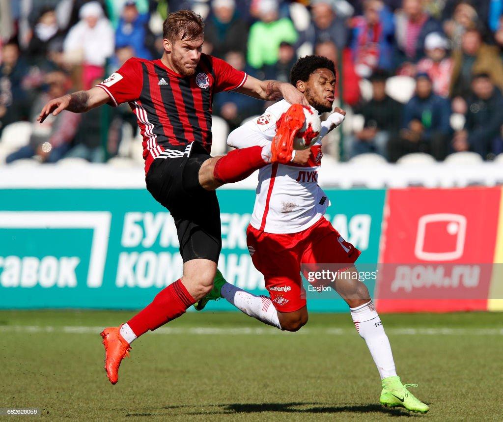 s et images de FC Amkar Perm vs FC Spartak Moscow Russian