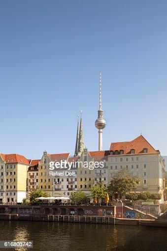 Nikolaiviertel, Berlin, Germany : Stock Photo