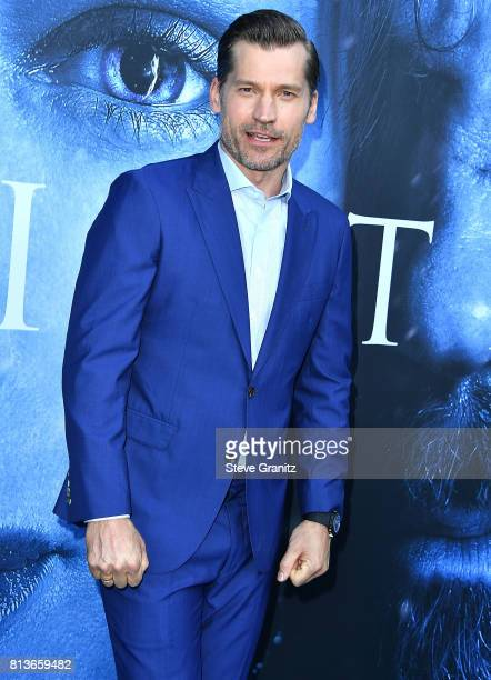 Nikolaj CosterWaldau arrives at the Premiere Of HBO's 'Game Of Thrones' Season 7 at Walt Disney Concert Hall on July 12 2017 in Los Angeles California