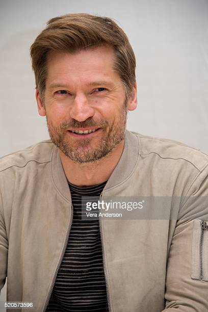Nikolaj CosterWaldau at the 'Game of Thrones' Press Conference at the Four Seasons Hotel on April 11 2016 in Beverly Hills California