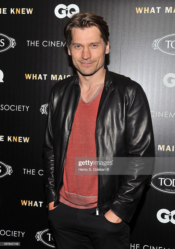 Nikolaj Coster-Waldau attends The Cinema Society with Tod's & GQ screening of Millennium Entertainment's 'What Maisie Knew' at Sunshine Landmark on May 2, 2013 in New York City.