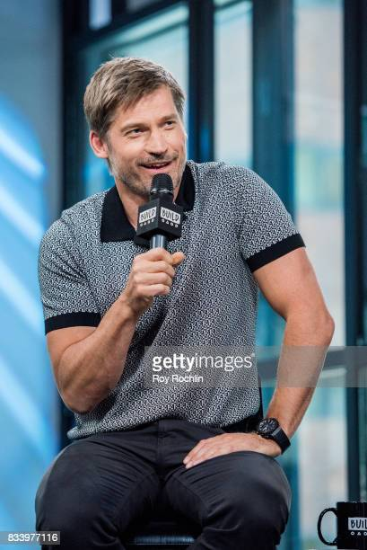 Nikolaj CosterWaldau discusses 'Shot Caller' with the Build Series at Build Studio on August 17 2017 in New York City