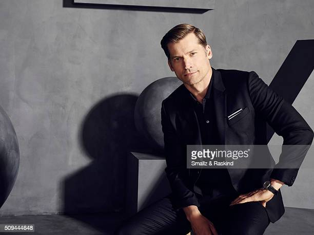 Nikolaj CosterWaldau is photographed for The Hollywood Reporter on May 31 2015 in Los Angeles California
