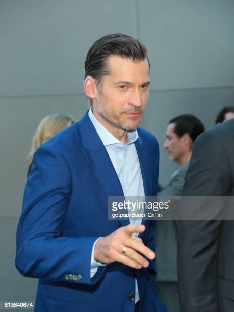 Nikolaj CosterWaldau is seen on July 12 2017 in Los Angeles California