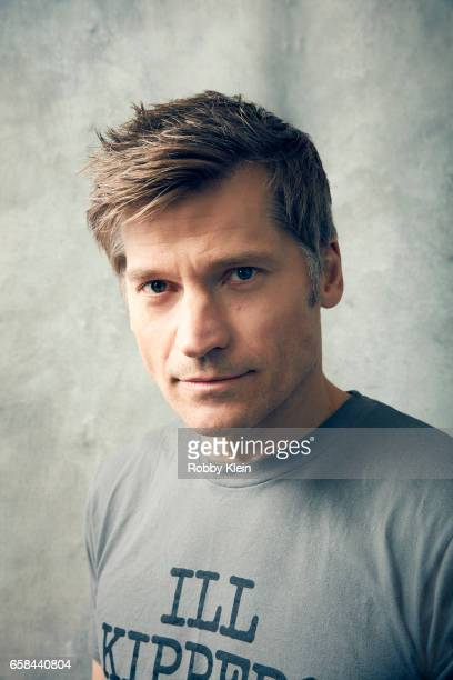 Nikolaj CosterWaldau of 'Small Crimes' poses for a portrait at The Wrap and Getty Images SxSW Portrait Studio on March 12 2017 in Austin Texas
