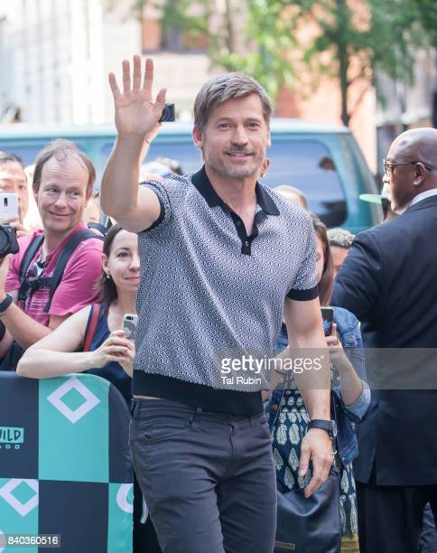 Nikolaj CosterWaldau on August 17 2017 in New York City