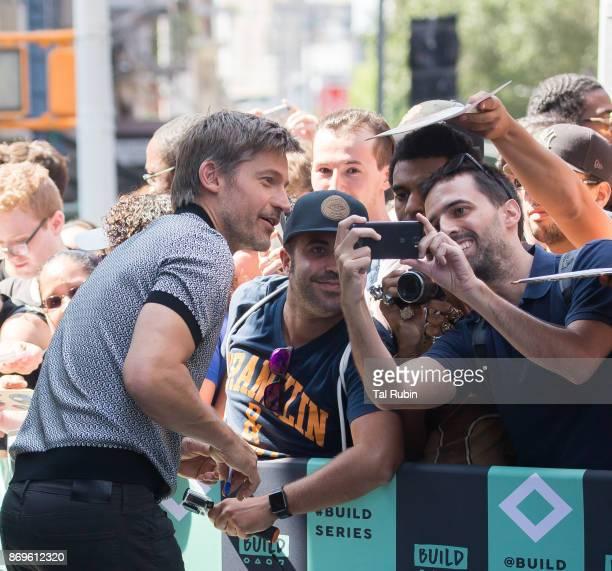 Nikolaj CosterWaldau on August 17 2017 in New York City
